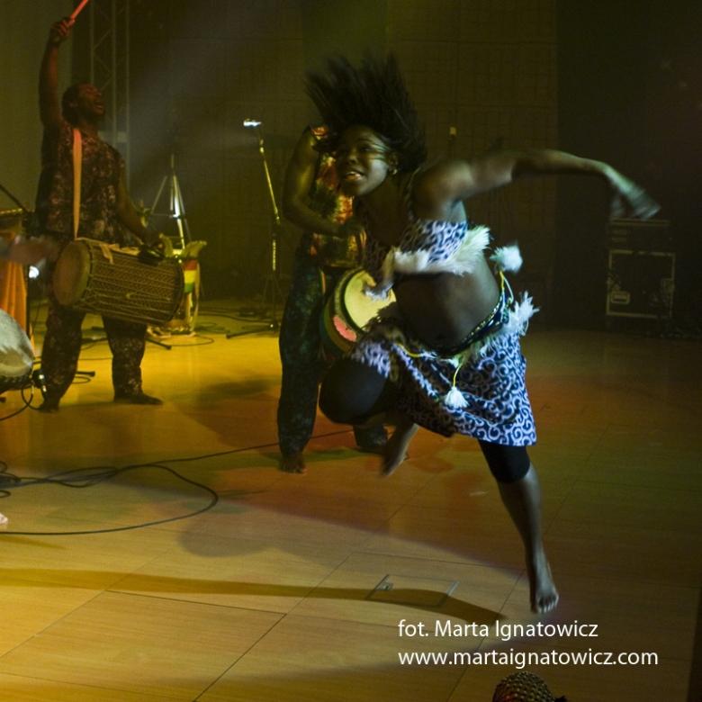 taniec afrykański