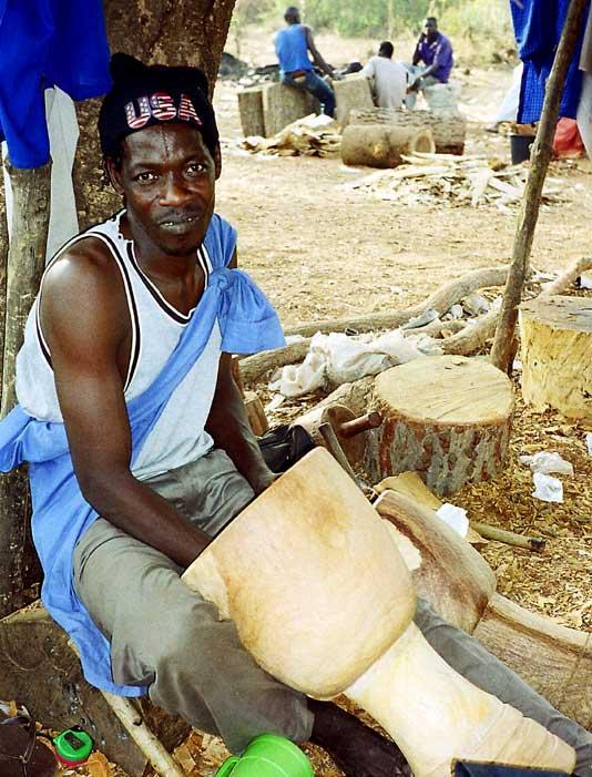 djembe z Mali