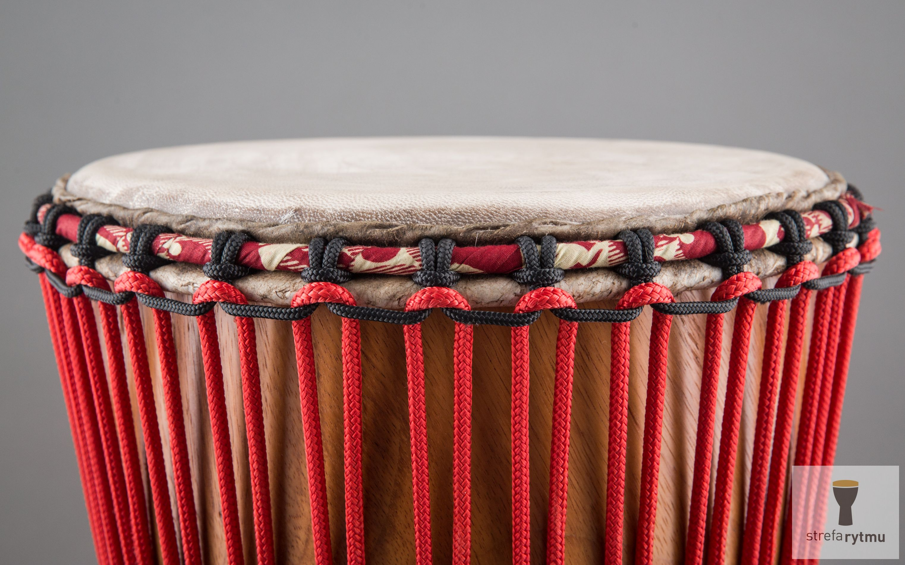 djembe red rope